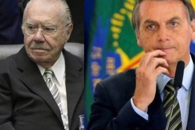 José Sarney e Jair Bolsonaro