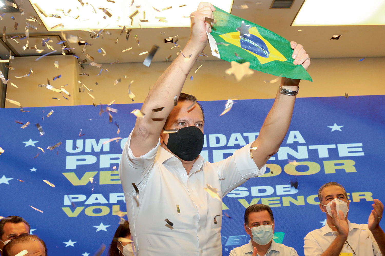 LARGADA -João Doria em Goiânia, em clima de primárias americanas: primeiro evento fora de São Paulo -