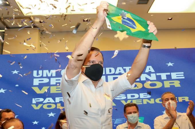 João Dória apresenta sua plataforma de pré-candidato a Presidência da República