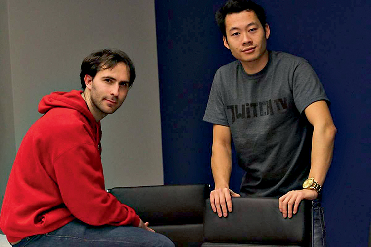 FUNDADORES - Emmett Shear e Justin Kan: eles viram o potencial das lives -