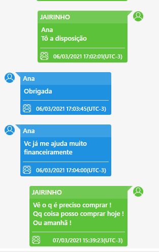 JAIRINHO, CHATS,