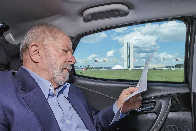 ALTA REJEIÇÃO -Lula: o petista é hoje o favorito, mas quase um terço do eleitorado não quer nem ele nem Bolsonaro eleito -