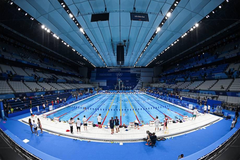 Tokyo Aquatics Centre -