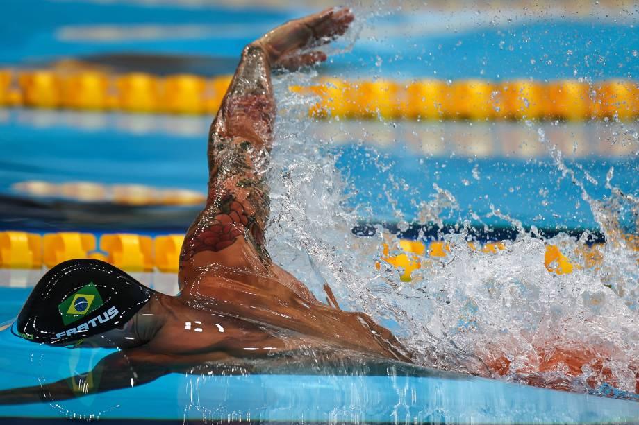 O nadador brasileiro Bruno Fratus -