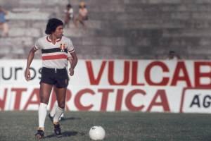 Givanildo, jogador do Santa Cruz, em 1977 -
