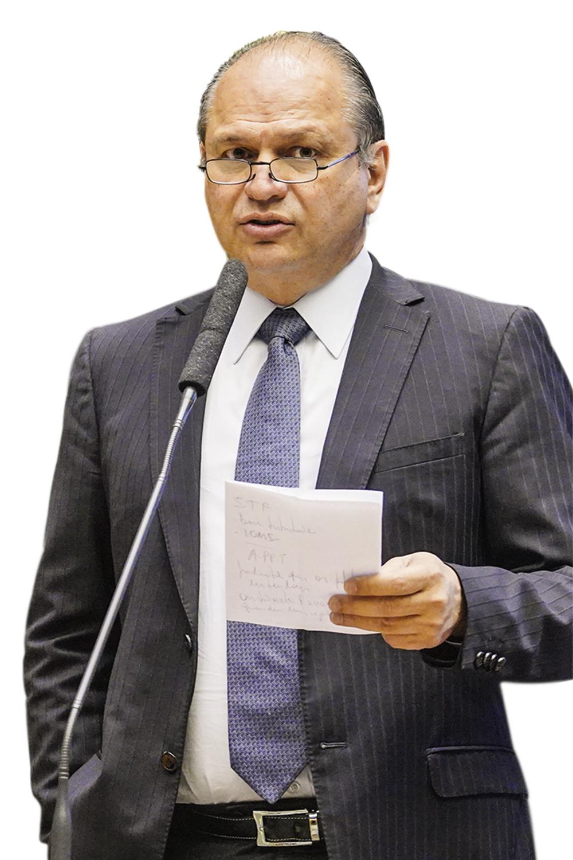 ALVO - Barros: o líder do governo teria sido citado pelo presidente -