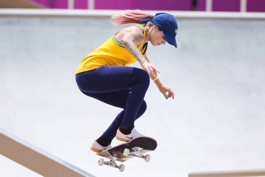 A brasileira Leticia Bufoni -
