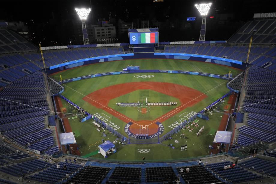 Yokohama Baseball Stadium -