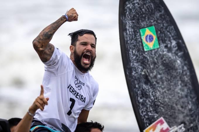 É Campeão: surfista Ítalo Ferreira conquista o 1º ouro do Brasil em Tóquio