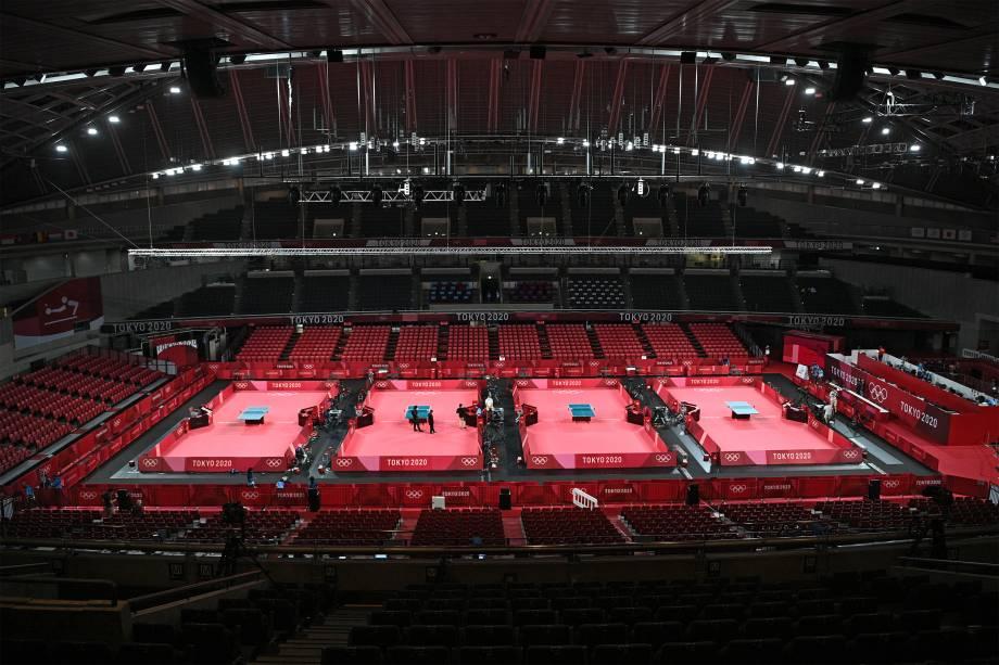Tokyo Metropolitan Gymnasium -