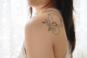 Uma das duas tatuagens que me impediram que frequentar um banho coletivo de águas termais no Japão