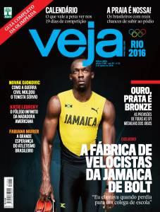 Capa da revista Veja, edição 2489, de 3 de agosto de 2016 -