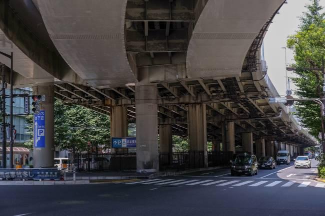 Trecho da Via Expressa Metropolitana de Tóquio -