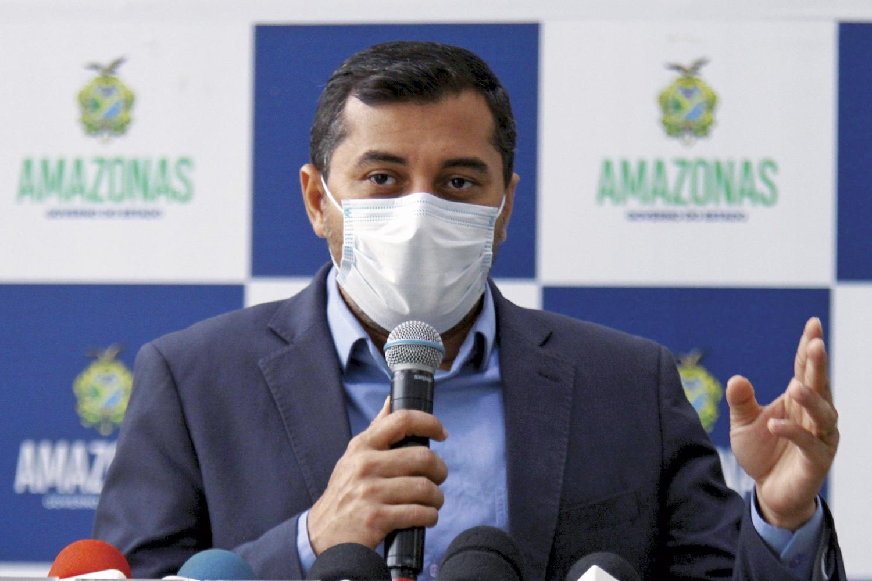 ALVO -Wilson Lima, do Amazonas: denunciado pelo Ministério Público por crime de organização criminosa -