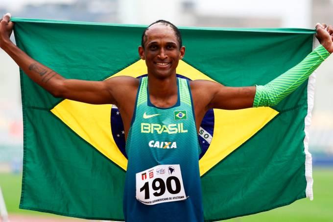 Alison Santos é referência sul-americana nos 400 m