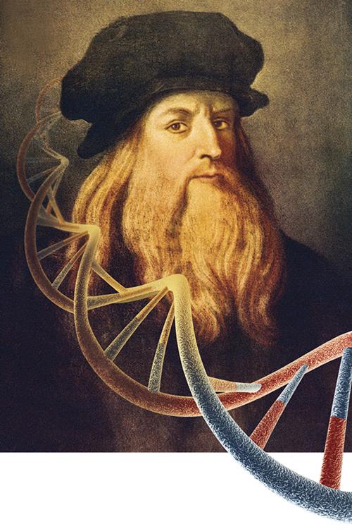 FORA DA CURVA -Da Vinci: respostas para seus dons podem estar nos genes de pessoas comuns -