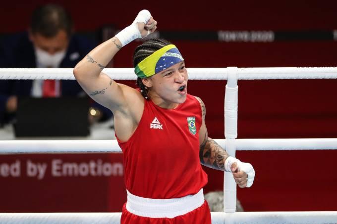 Beatriz Ferreira, do boxe