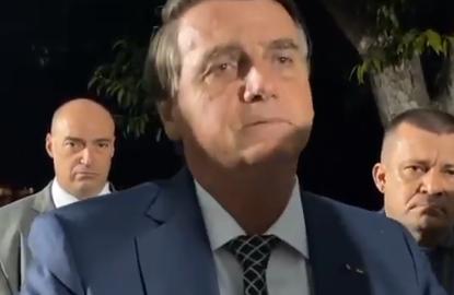Bolsonaro fala a apoiadores no Palácio da Alvorada – 05.07.2021
