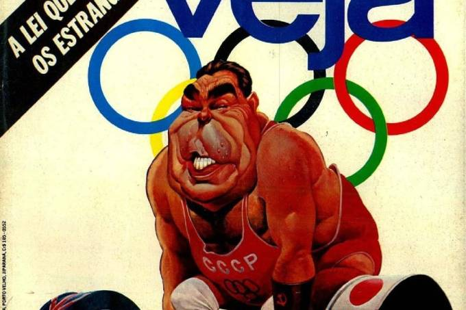 O líder soviético como halterofilista: boicote americano por causa da invasão do Afeganistão / ArquivoO líder soviético como halterofilista: boicote americano por causa da invasão do Afeganistão / Arquivo