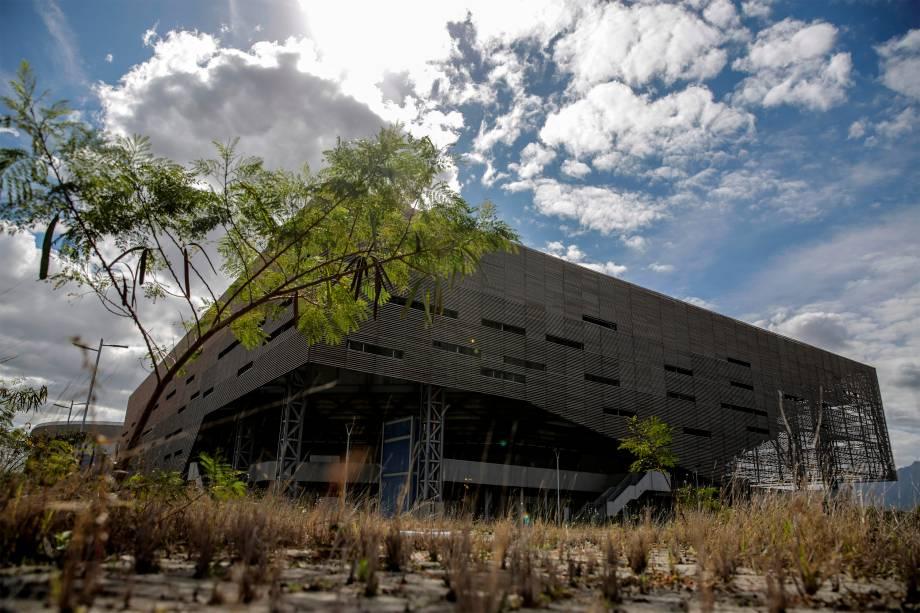 Pavilhão Olímpico, no Rio de Janeiro, abandonado -
