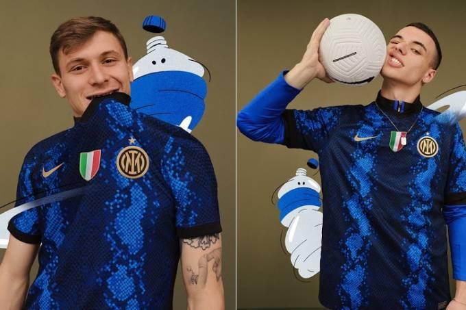 Nova camisa da Inter de Milão
