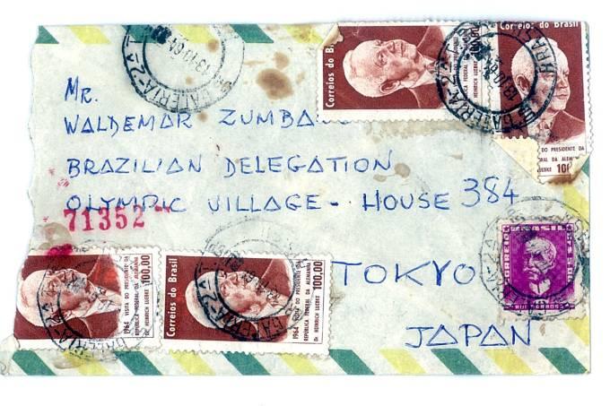 A correspondência enviada de São Paulo para Tóquio, há 57 anos: o público e o privado