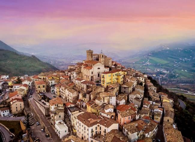 Casoli, no Abruzzo