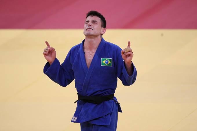 Daniel Cargnin levou o bronze no judô