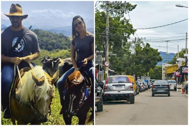 MANDANTE -Adriano e Julia (ao lado): o assassinato da vereadora teria sido planejado e realizado por milicianos poderosos da Gardênia Azul, na Zona Oeste do Rio -