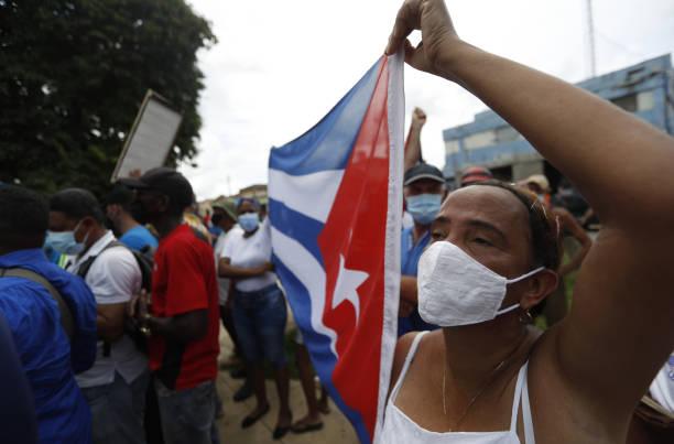 Os protestos recentes em Cuba