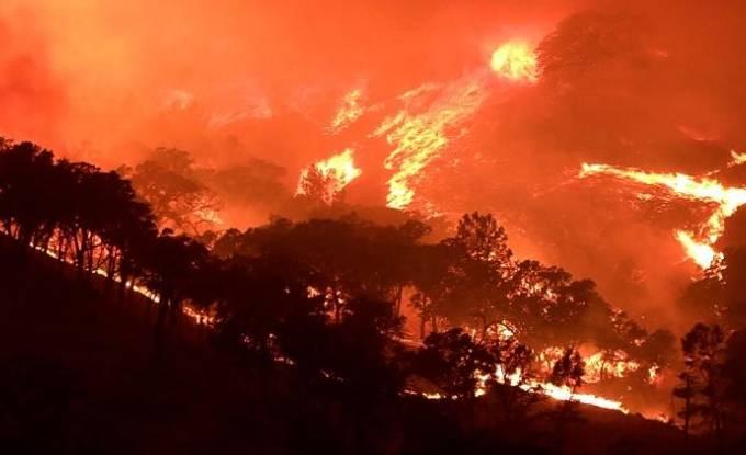 Incêndios florestais no Oregon, nos Estados Unidos