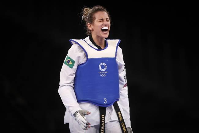 Milena Titoneli, do taekwondo