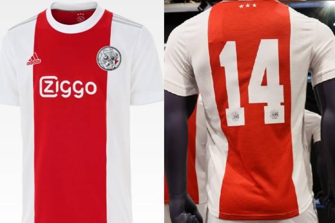 Nova camisa do Ajax