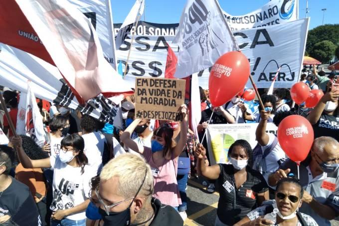 protesto contra  Bolsonaro RJ