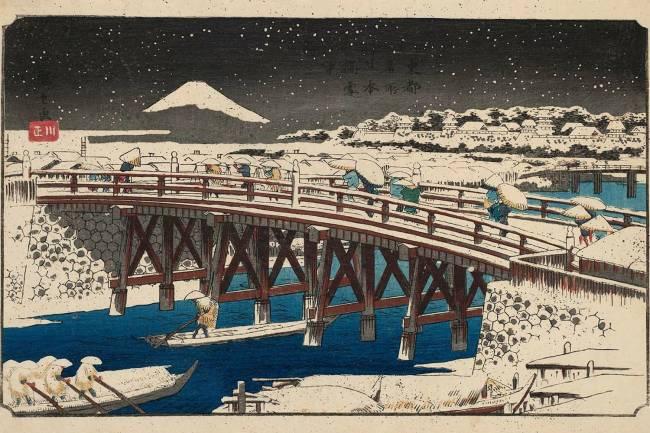 Ponte Nihonbashi na neve -