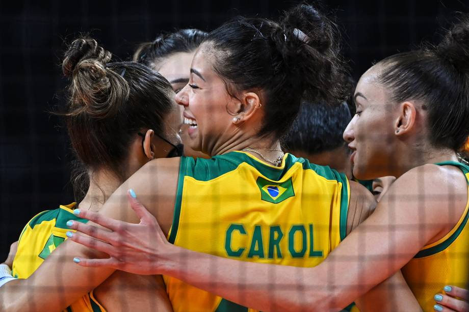 Brasil superou a Coreia do Sul e fará final do vôlei feminino -