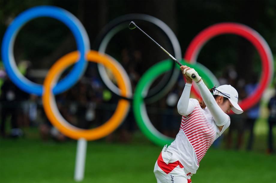 Mone Inami, do Japão, no 4º round do golf feminino individual -