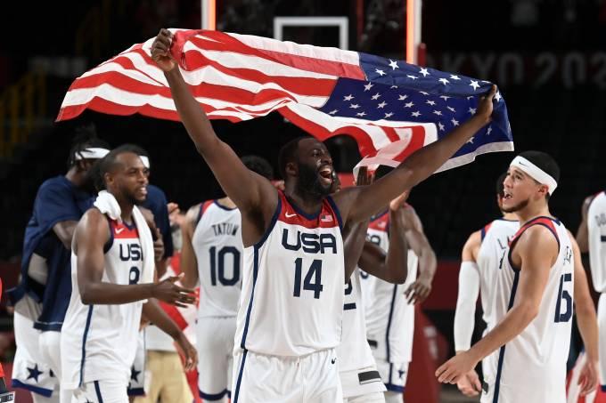 Draymond Green comemora o título americano
