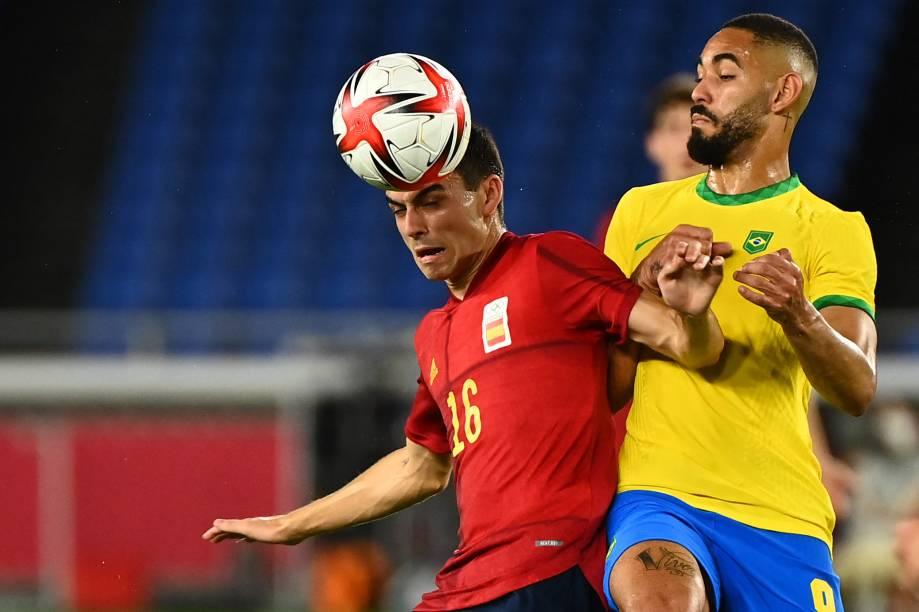 Matheus Cunha divide com Pedri na final olímpica -