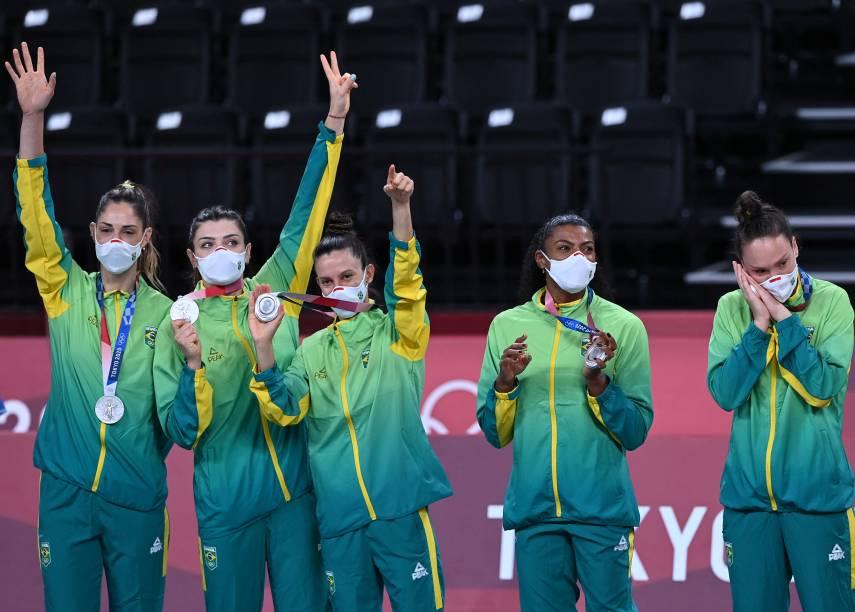 Seleção feminina de vôlei ganhou a última medalha brasileira em Tóquio