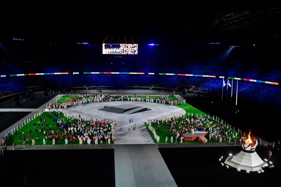 Cerimônia de encerramento dos Jogos Olímpicos -