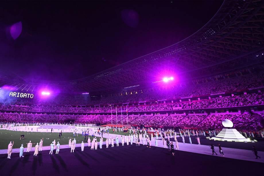 Cerimônia de encerramentos dos Jogos Olímpicos -