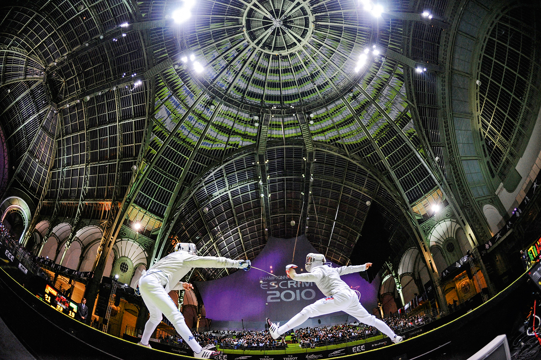 GRAND PALAIS - Touché: palácio centenário abrigará duelos de esgrima e tae kwon do -