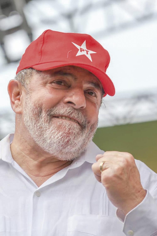 ...SE ATRAEM -Lula: ele quer o presidente como adversário para manter as chances de vitória em 2022 -