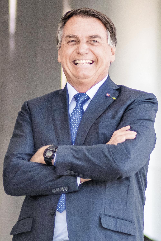 OS OPOSTOS...Bolsonaro: ele quer ter o petista como adversário para viabilizar sua reeleição -