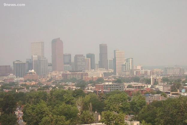 Cidade de Denver, no Colorado, Estados Unidos