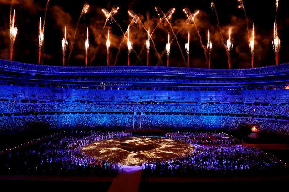 Enceramento das Olimpíadas -