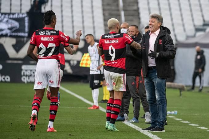 Flamengo x Corinthians – Campeonato Brasileiro – 01-08-2021 – Fo
