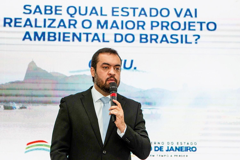 DEPOIS DA CRISE - Cláudio Castro: projetos com dinheiro da venda da Cedae -