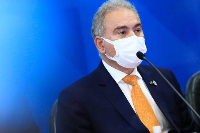 O ministro da Saúde, Marcelo Queiroga –